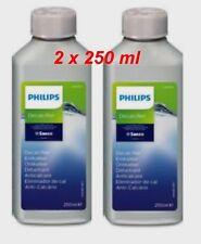 2 x Saeco Philips CA6700  Entkalker CA 6700/22  2 x a 250ml = 0,5L  New Logo