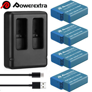 Rechargeable Battery / Charger For GoPro Hero 5/6/7/8 Black AHDBT-501 AABAT-001