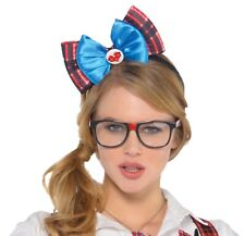 Geek Chic Womens Adult Funny Class Nerd Costume Glasses