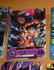 DRAGON BALL SUPER Z DBZ DBS HEROES CARD PRISM CARTE SH7 10 R RARE DBH JAPAN NM>M