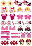MINNIE MOUSE DISNEY ICONS SHEET - EDIBLE IMAGE - CAKE TOPPER DECORATION