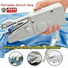 Portable Smart Mini Electric Tailor Stitch Hand-held Sewing Machine Home*AA