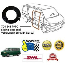 VW EuroVan 1992-2003 Sliding Door Seal (High Quality - Best Seller in Germany!)