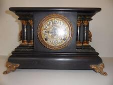 Vintage Brass Antique Mantel & Carriage Clocks