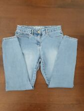 "Womens NEXT blue stretch skinny ""The Legging"" denim jeans size 12R"