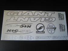 Giant XTC SE1 Stickers  White, Silver & Black.