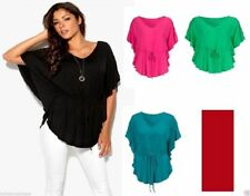 V Neck Stretch Other Tops Plus Size for Women