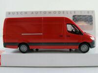 Busch 52601 Mercedes-Benz Sprinter Kastenwagen (2018) in rot 1:87/H0 NEU/OVP