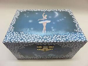 Musikalische Ballerina Schmuckschatulle Ballett Handtaschenform Spieluhr,