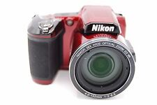 NIKON COOLPIX L840 16MP 3''Screen 38x Zoom Digital Camera RED
