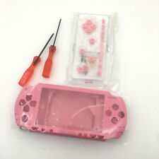 Pink Full Replacement Shell Housing Buttons screwdriver Kits For Sony PSP 1000
