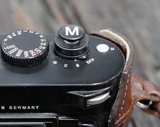 """!!! nuevo!!! original Leica Soft release button """"m"""" negro Leica M"""