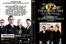 U2. 2017. LIVE IN CLEVELAND. THE JOSHUA TREE TOUR. DVD.