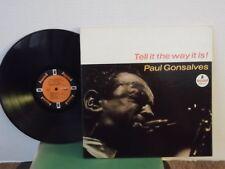 "Paul Gonsalves,Impulse A-55,""Tell It The Way It Is!""US,LP,stereo,orange lbl,gf,M"