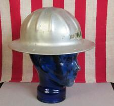 Vintage BF McDonald Co.Metal Construction Hard Hat Adjustable Safety Helmet CMI