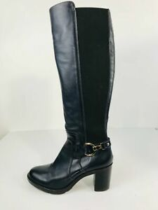 Luis Gonzalo 1966 Women's Knee High Boots   38 UK5   Blue