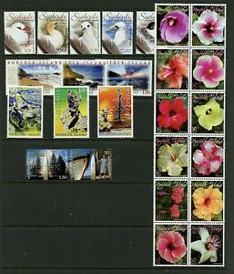 Norfolk Island #853//866 (NO019) complete sets, MNH, VF