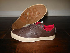 CONVERSE OS ONE STAR CLASSIC 74 OX 117870 Shoes Size 10 Men 44 EUR Seal Brown