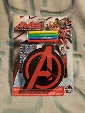 Marvel Avengers age of ultron Mini Stationary Case Set plastic case memo pad
