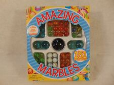 Imperial Amazing Marbles 151 Marble  1 JUMBO 4 25mm SHOOTERS 146 16mm lot NR