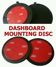 85MM CIRCULAR DASH-BOARD MOUNTING DISC -- WITH 3M ADHESIVE PAD - FAST UK POST