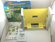 Vintage 1995 Geo Safari Jr. Electronic Learning Game EI-8855 w/ 10 Cards Tested