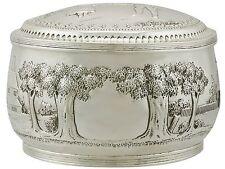 Boxes Silver Antiques
