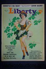 Liberty Mar 20, 1937 Tom Hall Cover