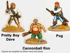 28mm-CCP002-Wild rovers Piratas-Crusader miniatures