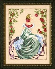 """SALE! COMPLETE X STITCH MATERIALS """"LADY OF THE MIST""""  MD93 by Mirabilia"""