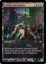 FOIL PROMO FULL ART Apocalisse di Zombie - Zombie Apocalypse MTG MAGIC DKA Ita
