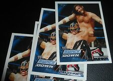CM Punk WWE 2010 Topps Legends Trading Card #36 Pro Wrestling Champion SmackDown