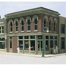 Woodland Scenics DPM - THE OTHER CORNER CAFE - HO Scale Building Kit NEW 11500
