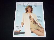2011 SPRING-SUMMER BON MAGAZINE - INTERNATIONAL FASHION ISSUE NICE COVER - D1379