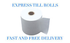 NEW!! Just Eat Terminal (80x70) Epos Thermal Till Rolls  **40 Rolls** (2 Boxes)