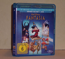 Blu Ray  Walt Disney Fantasia Blu Ray + DVD viele Extras sehr guter Zustand
