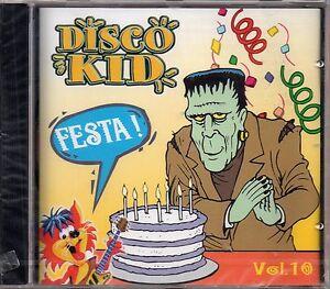 DISCO KID VOL.10 - FESTA! - MARTY E I SUOI AMICI  - CD NUOVO SIGILLATO RARO