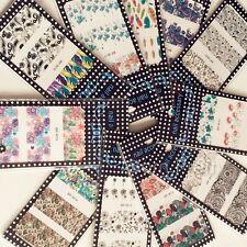 10Sheet/Set BORN PRETTY Nail Art Water Decals Flowers Transfer Stickers W11-20