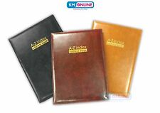 Executive Padded A-Z Index Address Telephone Book Directory Office Desktop 612