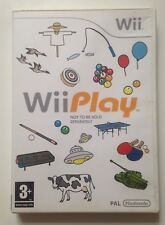 Wii Play Complete Game  + Unscratched Nintendo Club PIN Number 2006 PAL 3+ Wii U