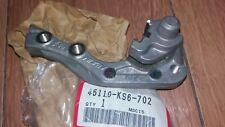 NOS HONDA CR 125 87- 89 250 500 87 88 FRONT BRAKE CALIPER BRACKET 45110-KS6-702