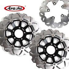 Motorcycle Front Rear Brake Disc Rotors For Suzuki GSX INAZUMA 1200 1999-2002
