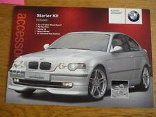BMW  AC SCHNITZER ENHANCEMENT CAR SALES BROCHURES X3 jm