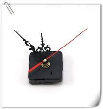 Wall Clock Mechanism Quartz Quiet Movement Replacement Cross Stitch Sweep Silent