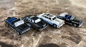 Vintage 1980's Galoob Micro Machines President Cadillac & Lincoln Limousine Lot