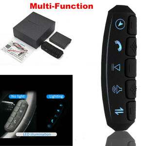 Wireless Car Steering Wheel Button Remote Control For Stereo DVD GPS Universal