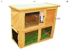 Outdoor Hutch Cover For Rabbit Guinea Pig Run