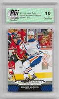 Connor McDavid 2015-16 Upper Deck Collection #CM-8 Rookie Card PGI 10 Oilers