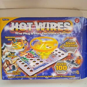 Hot Wires John Adams Electronics Set - Educational Projects
