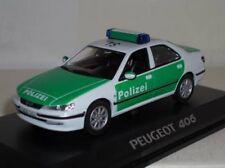 Norev peugeot 406 polizei 1:43 police MIB neuf new ref 474616